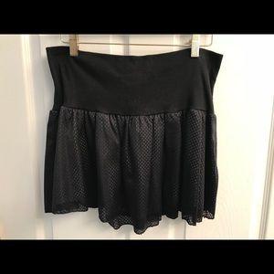 Free People mini skirt gray L